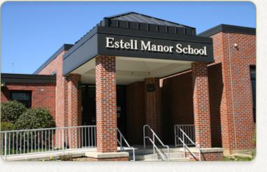 Front Entrance to Estell Manor School